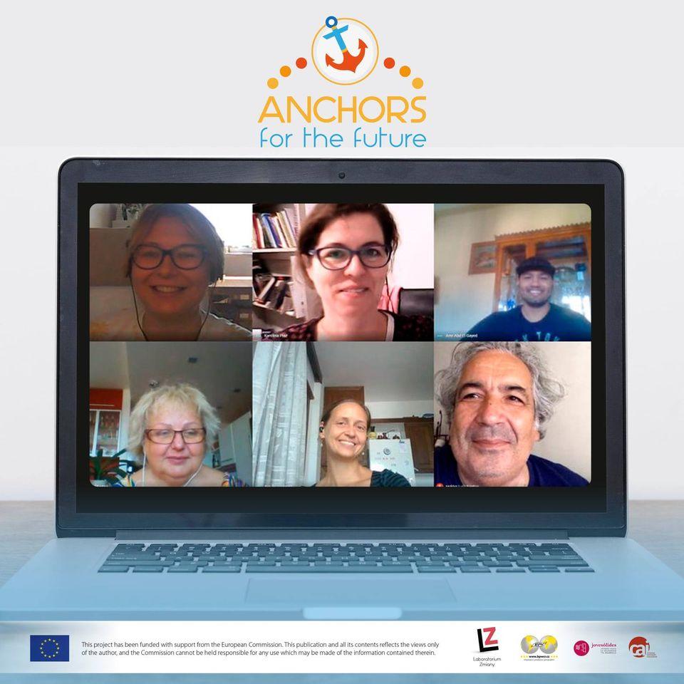 wideokonferencja z udziałem 6 osób